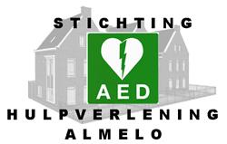 Logo AED hulpverlening Almelo
